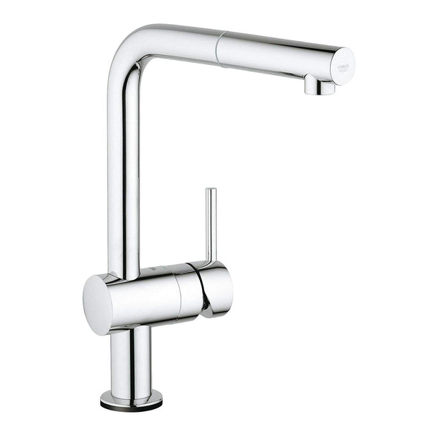 Grohe Minta Touch L Spout Pullout Spray Sink Mixer - 31360001 - Jashanmal Home