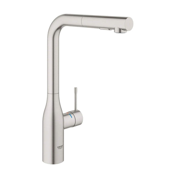 Grohe Essence Single Lever Kitchen Faucet - Supersteel - 30270DC0 - Jashanmal Home