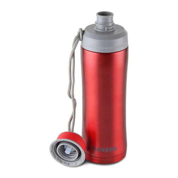 Grunwerg Vacuum Sports Flask - Metallic Red - SHD450MR - Jashanmal Home