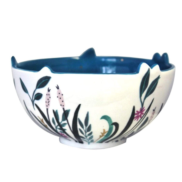 Disaster Designs Secret Garden Swan Bowl with Gift Box - Multi Colour - SECBOWSWA - Jashanmal Home