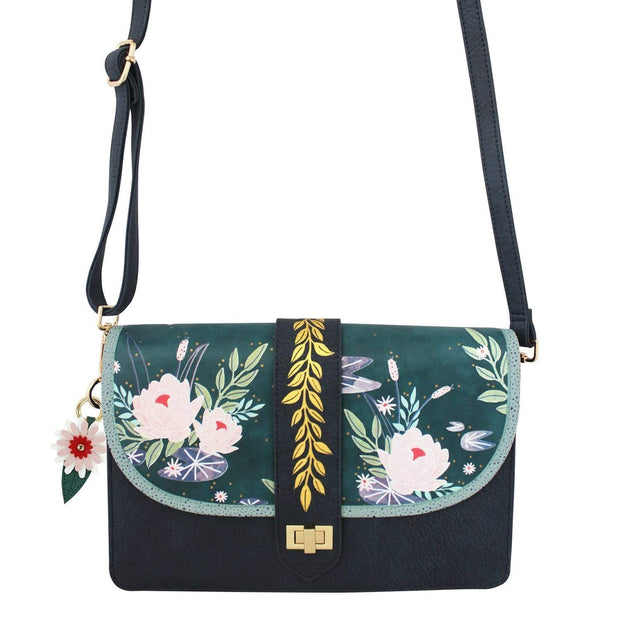 House of Disaster Secret Garden Swan Handbag - SECMINSWA