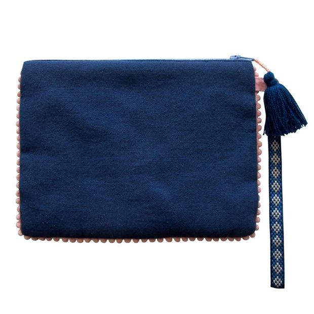 Disaster Designs Secret Garden Swan Pouch - Blue - SECPOUSWA - Jashanmal Home
