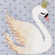 Disaster Designs Secret Garden Swan Purse - Blue - SECPURSWA - Jashanmal Home