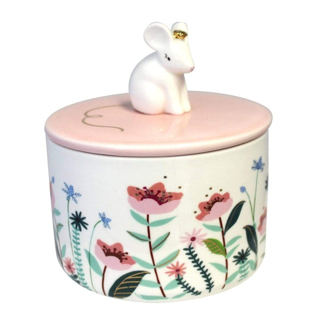 Disaster Designs Secret Garden Mouse Jar with Gift Box - Multi Colour - SECJARMOU