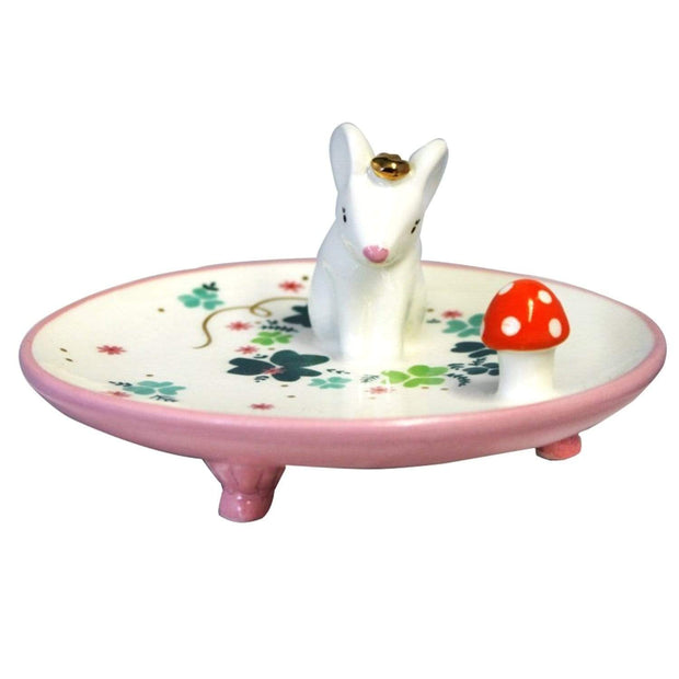 House of Disaster Secret Garden Mouse Dish with Gift Box - SECDISMOU - Jashanmal Home