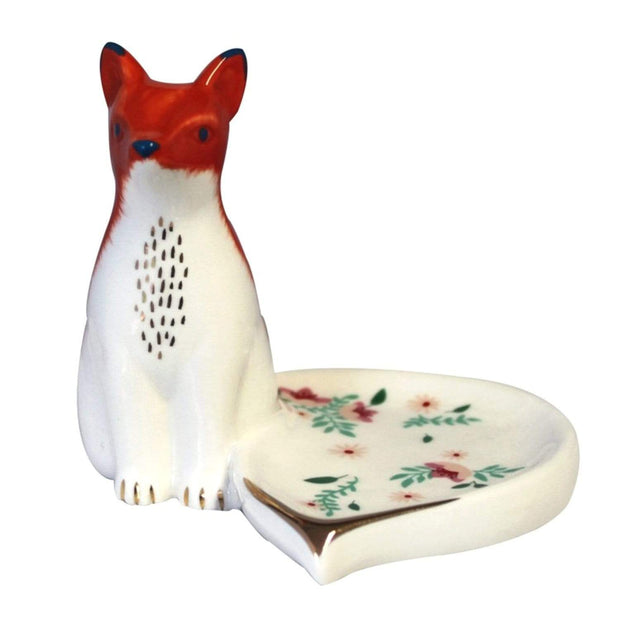 House of Disaster Secret Garden Fox Dish with Gift Box - SECDISFOX - Jashanmal Home
