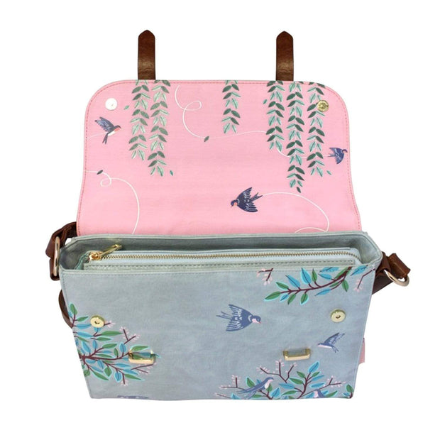 House of Disaster Secret Garden Bird Satchel - SECSATBIR
