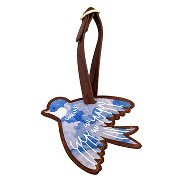 House of Disaster Secret Garden Bird Luggage Tag - SECTAGBIR - Jashanmal Home