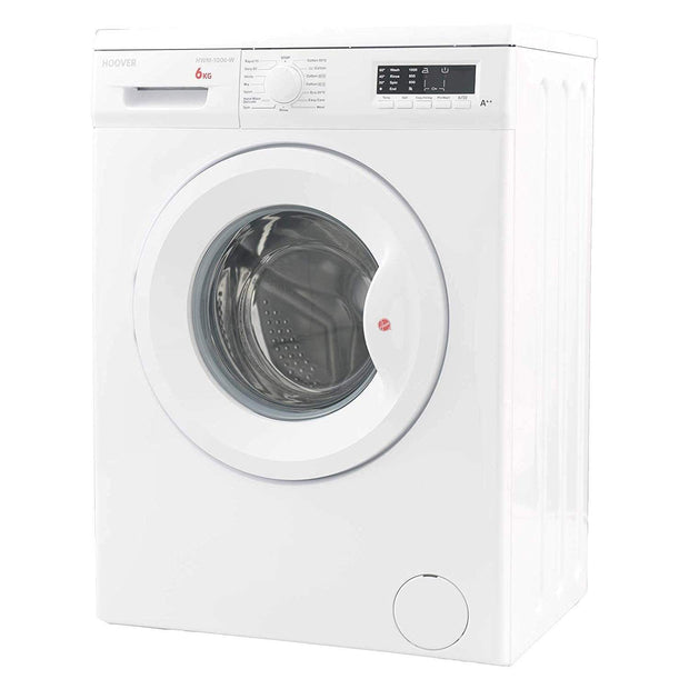 Hoover 6 kg Washing Machine with LED Indicator - HWM-1006-W - Jashanmal Home