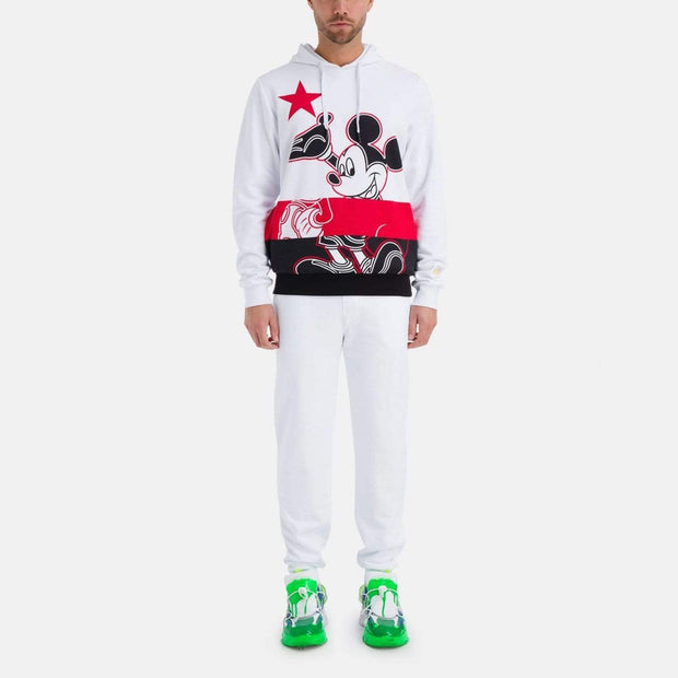 Iceberg Chinese New Year Mickey Mouse Hoodie - White - I1P-E0626302 - Jashanmal Home
