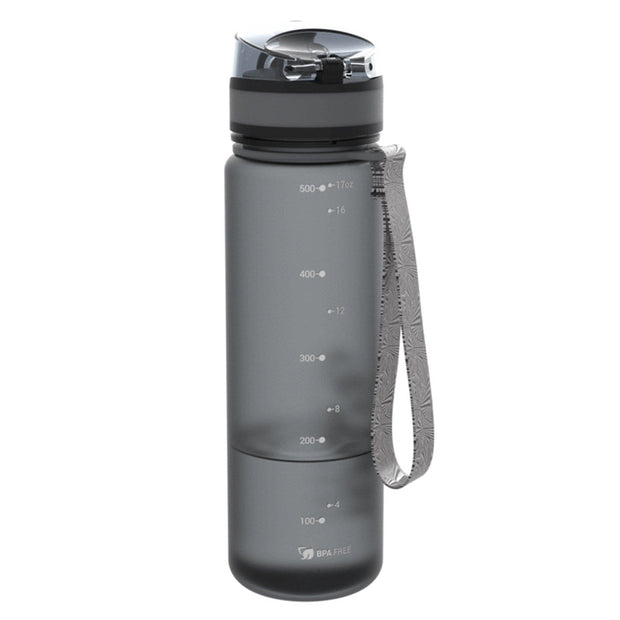 Ion8 Slim Water Bottle - Frosted Grey, 500 ml - I8500FGRY - Jashanmal Home