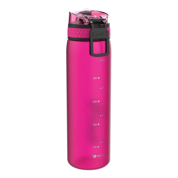 Ion8 Slim Water Bottle - Frosted Pink, 500 ml - I8500FPIN - Jashanmal Home