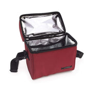 Iris Barcelona Optimal Lunch Bag with 2 Food Container and Bottle - Red and Clear - 9637-TX - Jashanmal Home