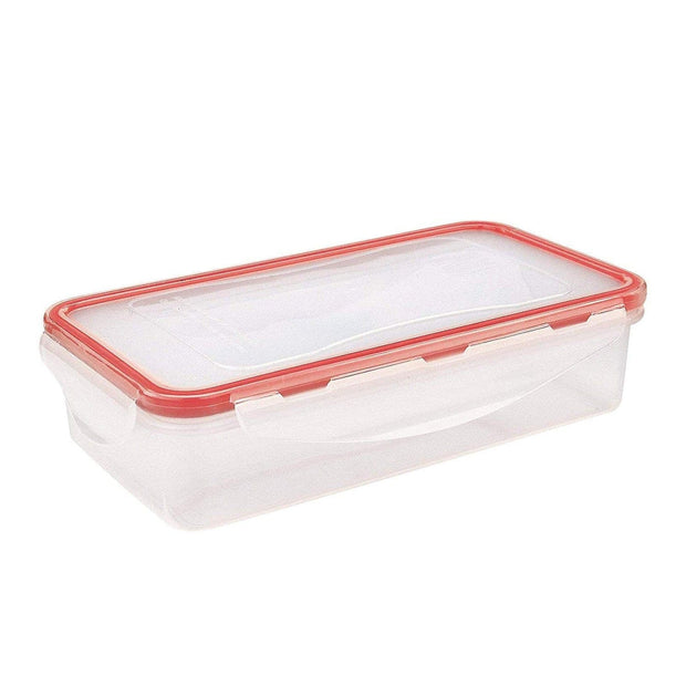 Iris Barcelona My Lunch Box - Clear and Orange - 8501-P - Jashanmal Home