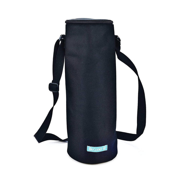 Iris Barcelona Nano Freezer Bottle Bag - Black, 1.5 Litre - 9675-TX - Jashanmal Home