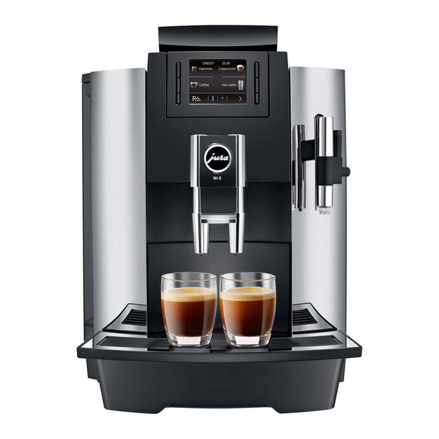Jura WE8 Coffee Machine - Black and Silver - 15144 - Jashanmal Home