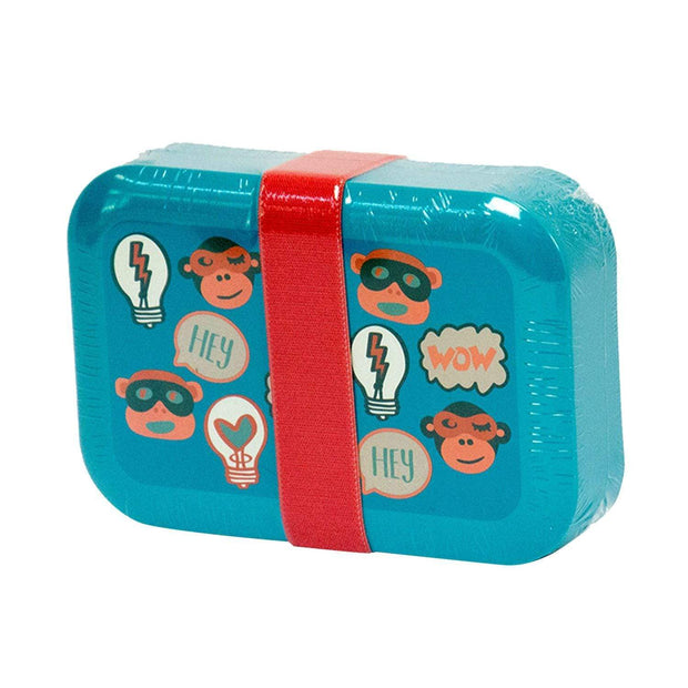 Kipling Fun Shapes Lunch Box - Light Blue - 00022-88F - Jashanmal Home