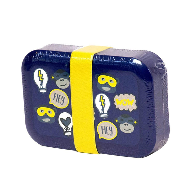 Kipling Fun Shapes Lunch Box - Dark Blue - 00022-88G - Jashanmal Home