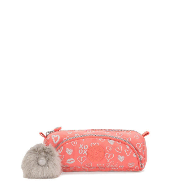 Kipling CUTE School Accessories - Hearty Pink Met - 09406-83S - Jashanmal Home