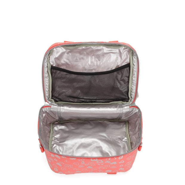 Kipling MIYO School Accessories - Hearty Pink Met - 15381-83S - Jashanmal Home