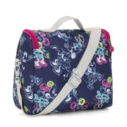 Kipling Kichirou Insulated Lunch Bag - Doodle Blue, Large - I0003-41D - Jashanmal Home
