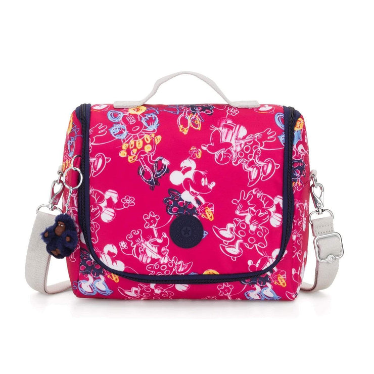 Kipling Kichirou Insulated Lunch Bag - Doodle Pink, Large - I0003-6DM