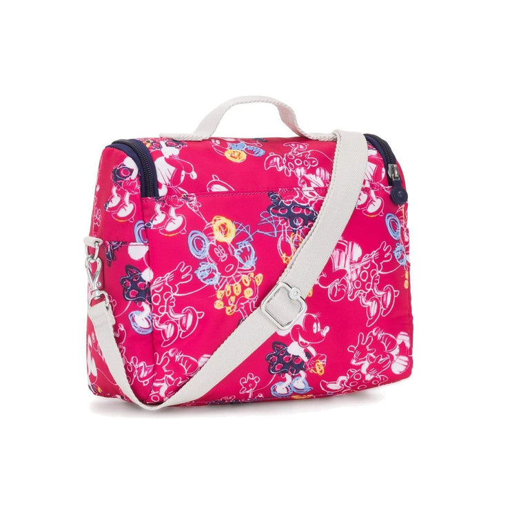 Kipling Kichirou Insulated Lunch Bag - Doodle Pink, Large - I0003-6DM - Jashanmal Home