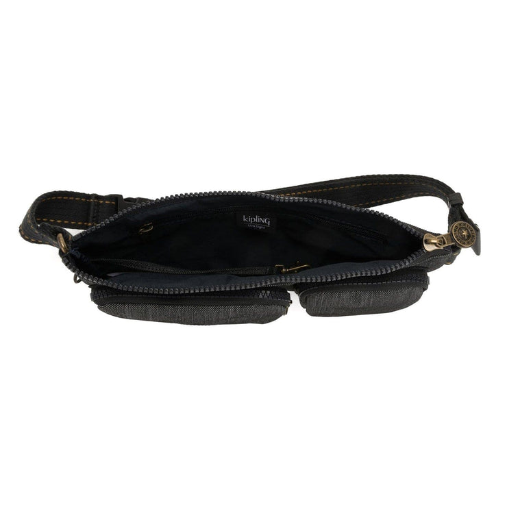 Kipling Presto Up Waist Bag - Black Indigo - I3475-73P - Jashanmal Home