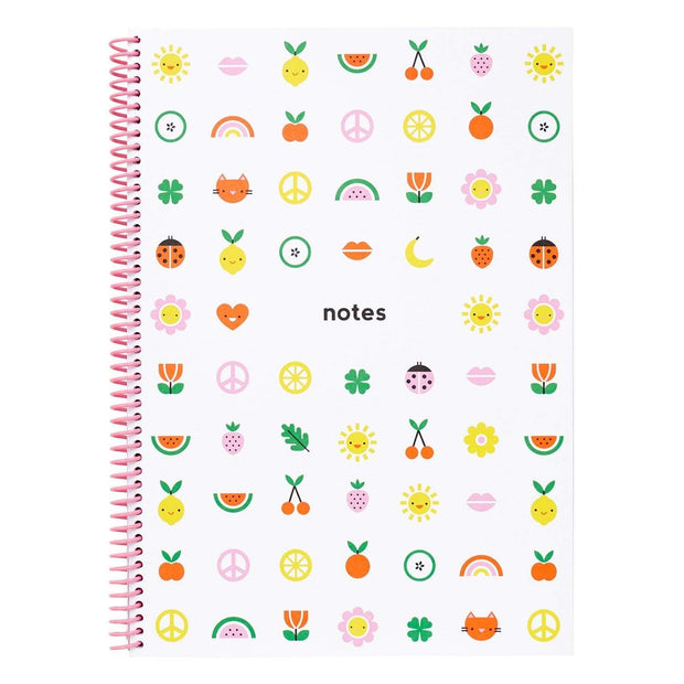 Kikki.K Cute 2019 A4 Spiral Everyday Notebook - 11130001
