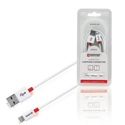 Skross Essentials Charge N Sync Lightning Connector Cable - White - 2700205E - Jashanmal Home