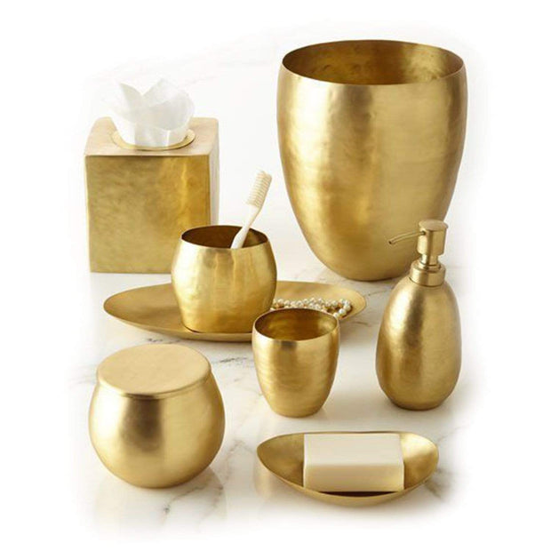 Kassatex Nile Brass Lotion Dispenser - Gold  - ANL-LD