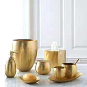 Kassatex Nile Brass Soap Dish - Gold - ANL-SD