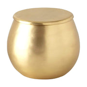 Kassatex Nile Brass Cotton Jar - Gold  - ANL-CJ