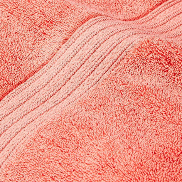 Kassatex Kassadesign Wash Towel - Wild Salmon - KDK-172-WDS - Jashanmal Home