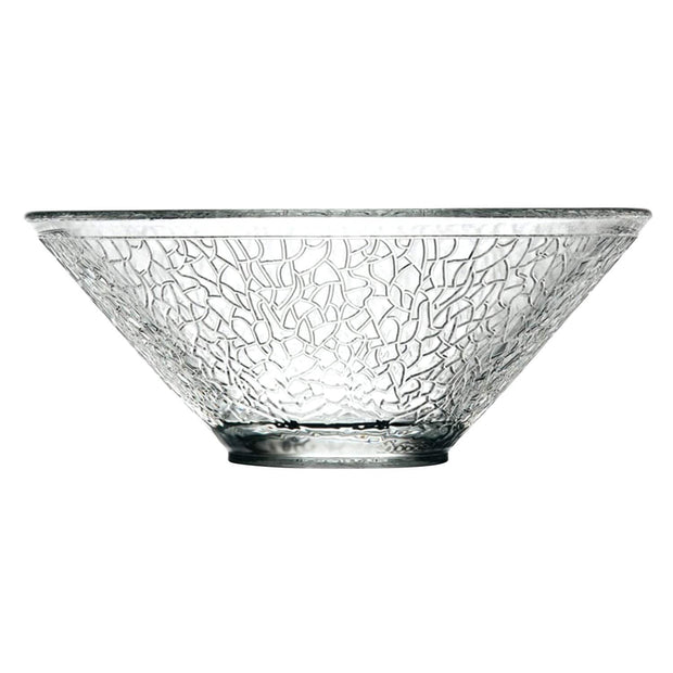 La Rochere Crackle Salad Bowl - Clear - 636201 - Jashanmal Home
