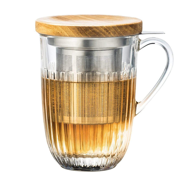 La Rochere Ouessant Tea Infuser Mug - Clear - 640401 - Jashanmal Home