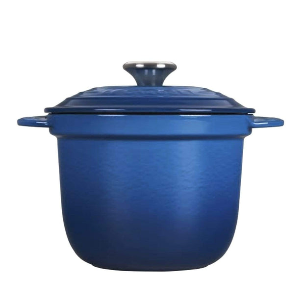Le Creuset Cast Iron Rice Pot with Stoneware Inner Lid - Marseille - 41110182000460 - Jashanmal Home