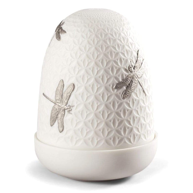 Lladro Dragonflies Dome Table Lamp - 1023967 - Jashanmal Home