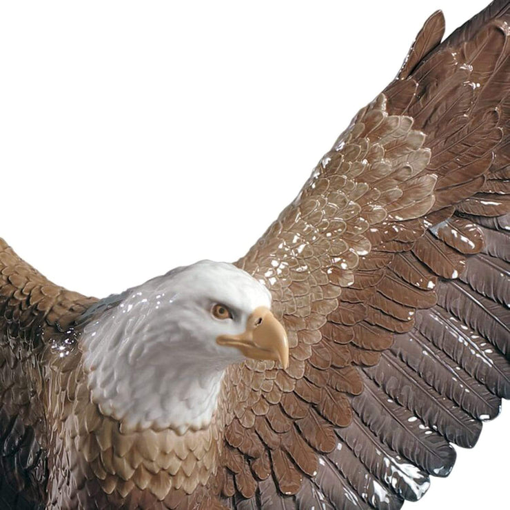 Lladro Freedom Eagle Sculpture - 1009245 - Jashanmal Home