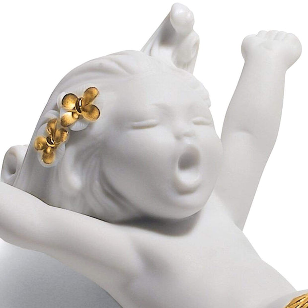 Lladro Waking Up At Sea Mermaid Figurine - 1008561