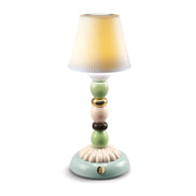 Lladro Palm Firefly Golden Fall Table Lamp - 1023793 - Jashanmal Home