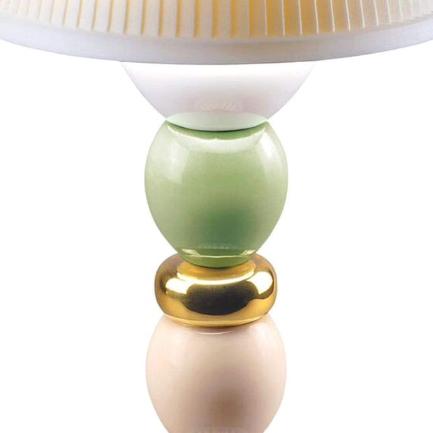 Lladro Palm Firefly Golden Fall Table Lamp - 1023793