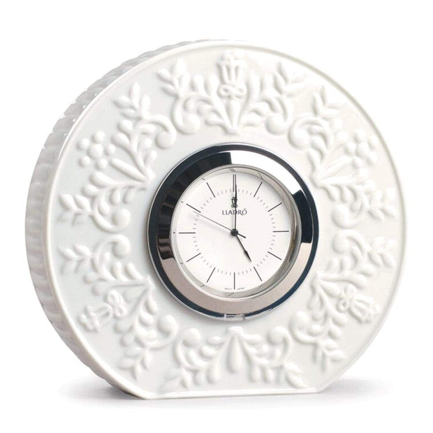 Lladro Logos Decorative Table Clock - 1009603