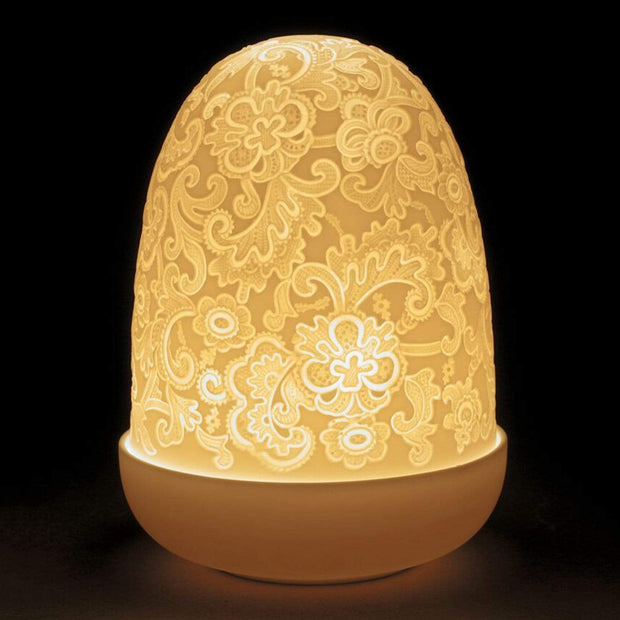 Lladro Lace Dome Table Lamp - 1023890 - Jashanmal Home
