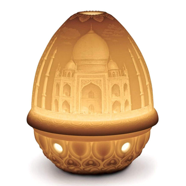 Lladro Taj Mahal Lithophane Votive Light - 1017360
