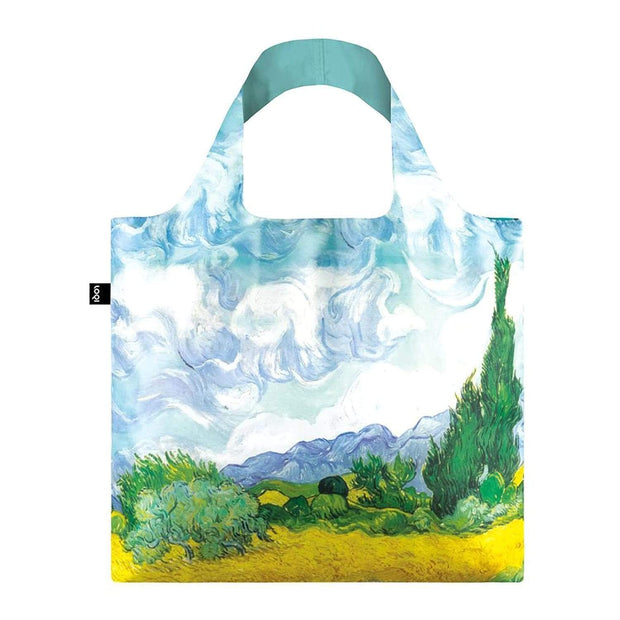 Loqi Museum Vincent Van Gogh's a Wheat Field with Cypresses Tote Bag - VG.WH.N - Jashanmal Home