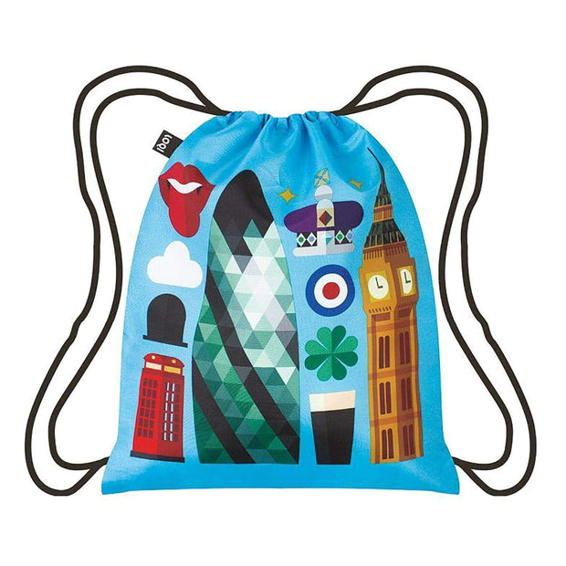 Loqi Artist Hey Studio London Backpack - HEY.LO - Jashanmal Home
