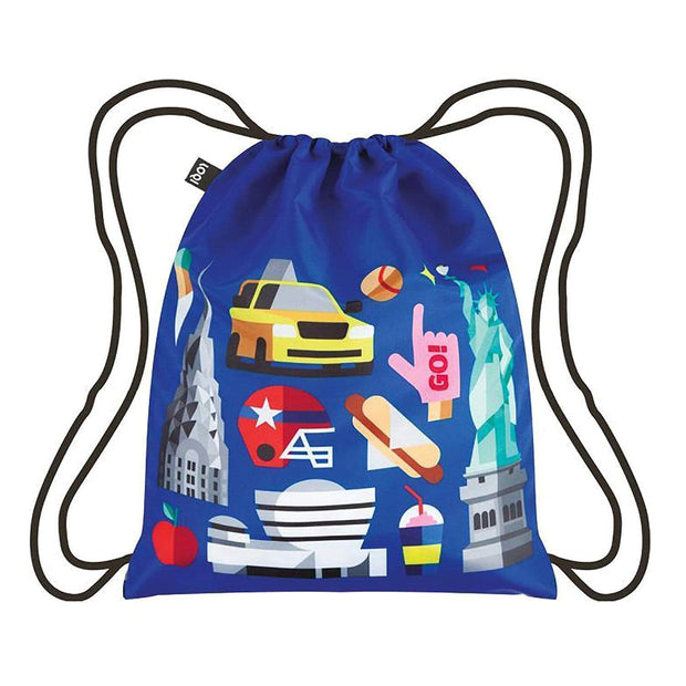 Loqi Artist Hey Studio New York Backpack - HEY.NY - Jashanmal Home