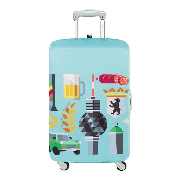 Loqi Artist Hey Studio Berlin Luggage Cover - LM.HEY.BE - Jashanmal Home