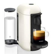 Nespresso Vertuo Plus Coffee Machine - White and Aero Black - GCB2-BU-WH - Jashanmal Home